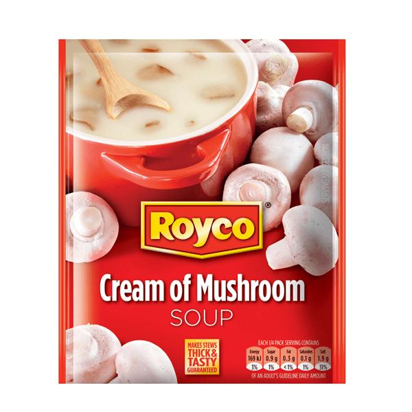 south african shop royco soup mushroom 50g